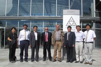 Visite au LEESU de collègues de Tsinghua
