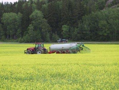 Utilisation d'urine en agriculture, Suède.